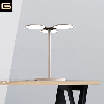 Lg Round Iron Organic Flat Oled Lamp O Led Light Lighting Table