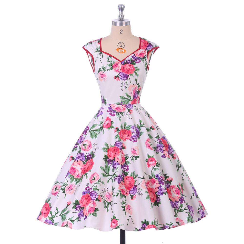 Grace Karin Vestidos De Verano Floral Print Summer Dresses ...
