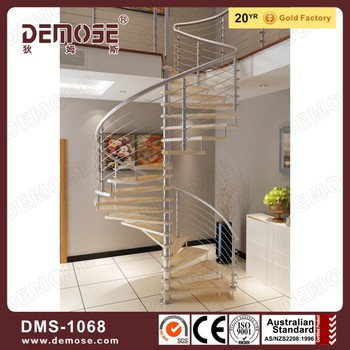 Personal Used Spiral Staircase Modern Design