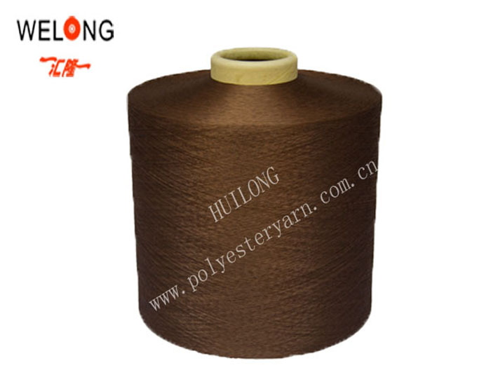 jiaxing 100% polyester yarn 75/72 for knitting & embroidery