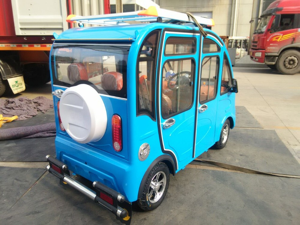 New style 60v 1000w electric tricycle use for adult taxi