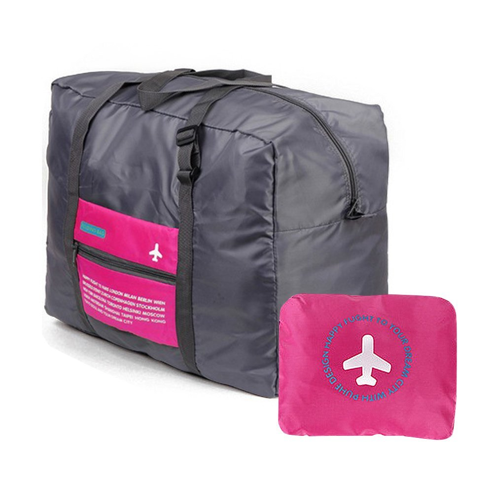 Duffel Bag - Waterproof Travel Duffel Bag,Nylon Foldable Sports Duffel Bag For Travel,Campimg,Sports