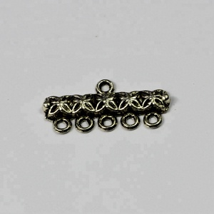 wholesale bulk charms antique silver color alloy charm with hoops