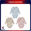 China supplier long sleeve baby clothes organic cotton