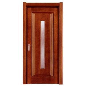 China Modern Design Luxury Interior Wooden Bedroom Hotel Door
