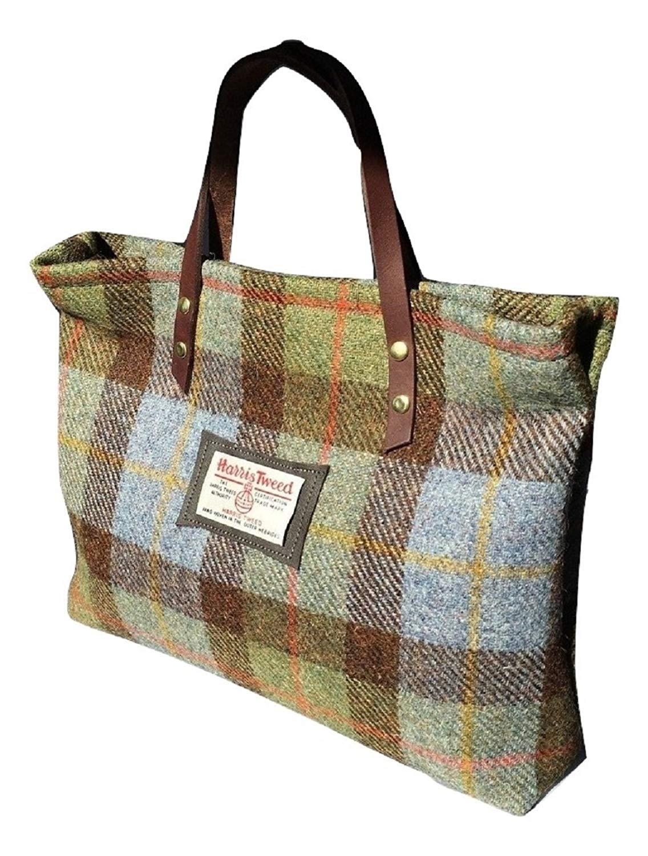 4224339b0c8 Get Quotations · Harris Tweed Ladies Runner Bag - Hunting MacLeod Plaid  Design Hand Made in Scotland