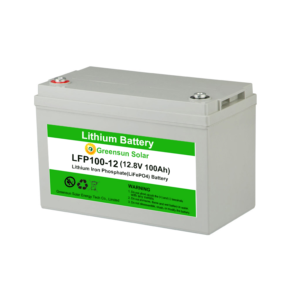 BMS Deep Cycle Lifepo4 12v 200ah Lithium Ion Battery 12.8v 100ah Storage Energy System