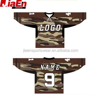 223f589a559 Cheap Wholesale Blank Hockey Jerseys Custom Camouflage Hockey Jersey ...