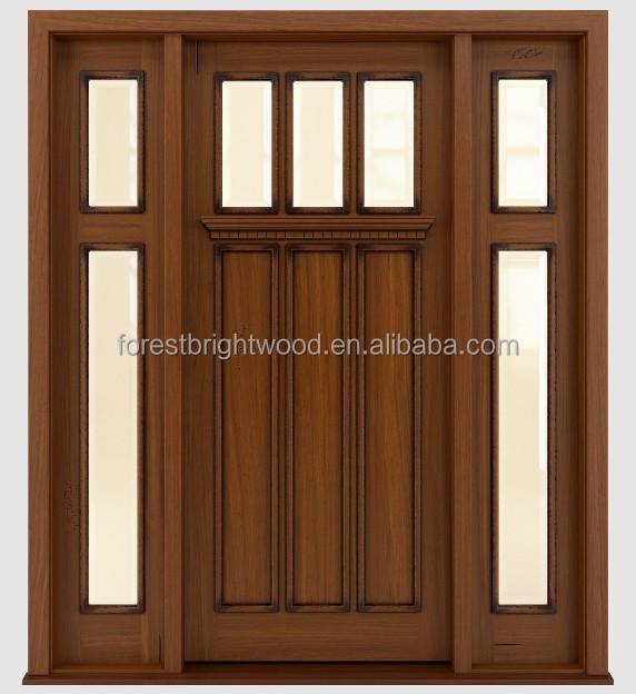 traditionelles design massivholz eingangst r mit milchglas t r produkt id 60118155405 german. Black Bedroom Furniture Sets. Home Design Ideas