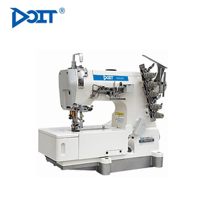 DT500-01CB DOIT High Speed Industrial Flat Bed Interlock Coverstitch Sewing Machine Price For General Plain Sewing
