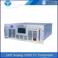 wireless broadcasting 100w UHF indoor tv transmitter repeater