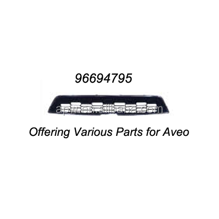 Chevrolet GM OEM 07-11 Aveo Front Bumper Grille Grill-Inner Cover Right 96648782