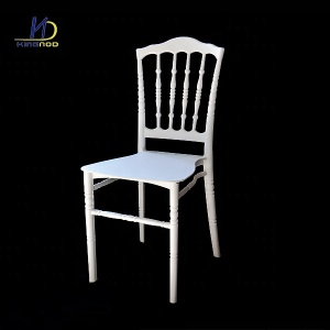 Hot Sale Cheap White Chaise Chiavari Wedding Resin PP Plastic Chair Napoleon