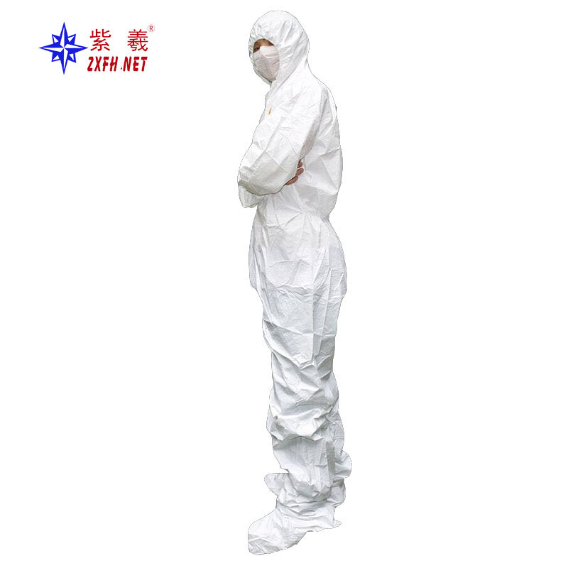 Non-woven breathable coverall anti-oil and waterproof protective clothing - KingCare | KingCare.net