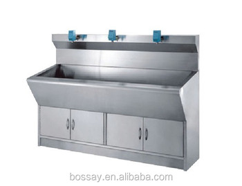 Hospital Hand Washing Sink/Medical Stainless Steel Hand Wash Sink