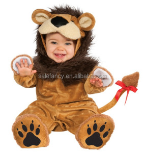 Cheap wholesale halloween fancy dress infant baby lion costume QBC-6700