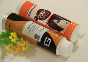 Laminated Tube Packing Hair Color Cream