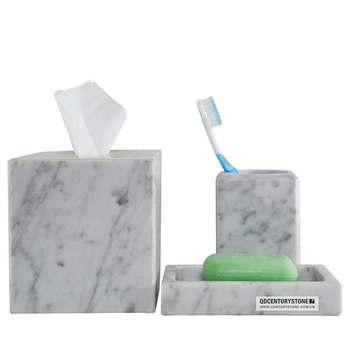 Beautiful Carrara White Marble Bathroom Accessories Buy Bathroom