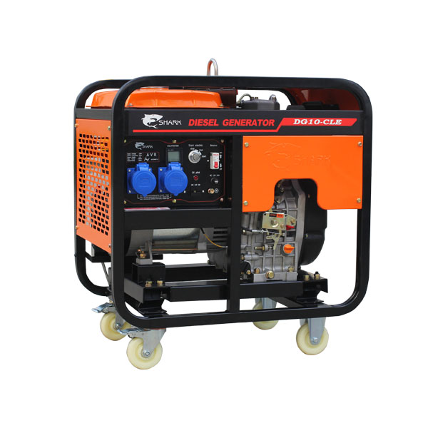 SHARK 8KW Air Cooled Single Cylinder portable marine <strong>Diesel</strong> Generator