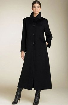 Western New Single Breasted Black Long Coat - Buy Western New ...