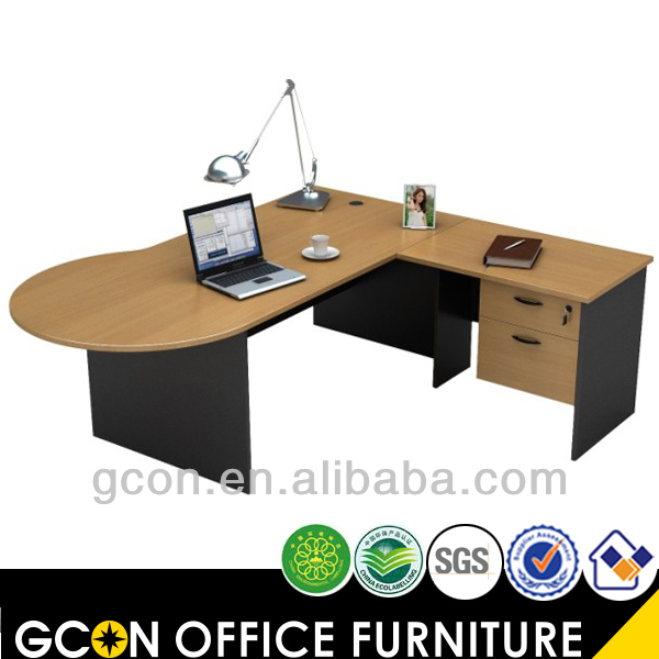 Corner&L shape executive desks with drawers workstation