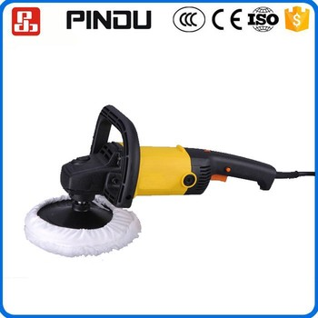 Low Moq Reasonable Price Portable Lowes Handheld Electric Car Buffer Polisher Light Weight 1400w