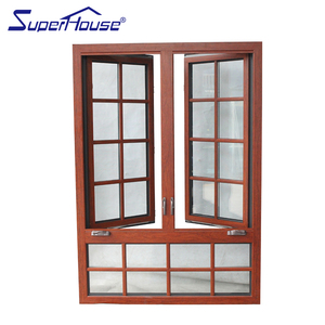 aluminium frame 3 glass wood windows grills design solid wood windows