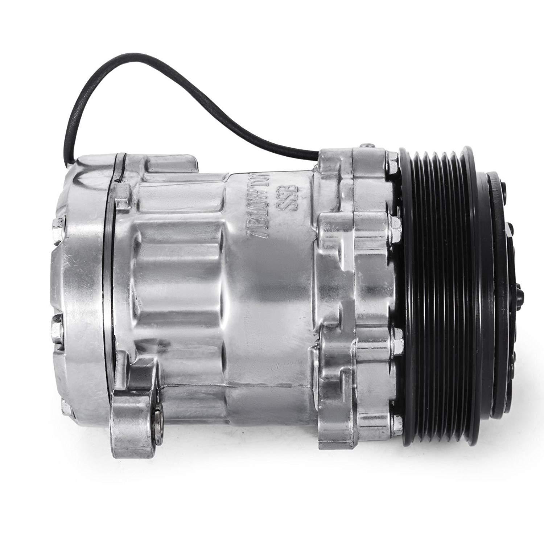 Mophorn CO 7176C sanden style Universal Air Conditioner AC Compressor 7176 SD7B10 2010061 167515 168515