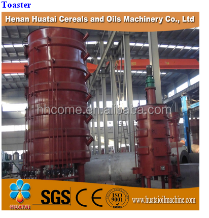 China Hutai Brand YZCL series Multiple layer Oilseed Steam Cooker/vertical layer cooker for soybean oil pretreatment process