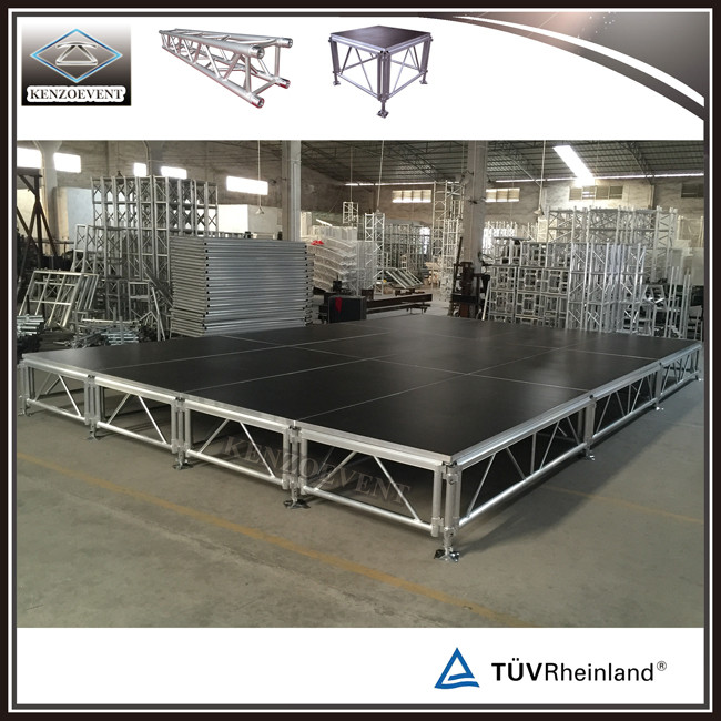 Customized 18mm Non-slip Plywood Staging Aluminum Stage for Events
