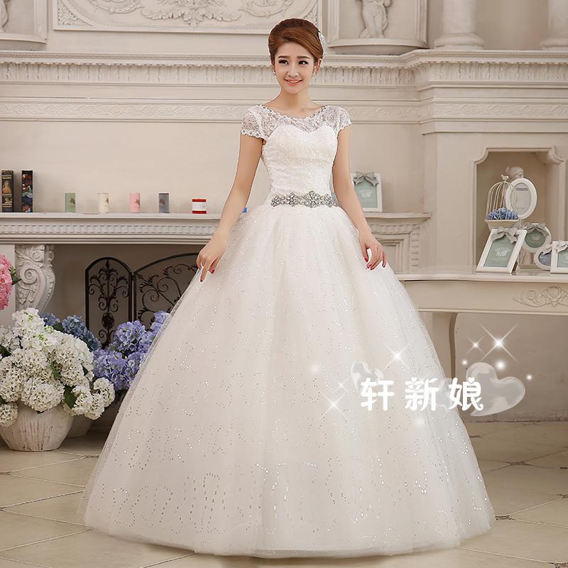 diamond top wedding dress - photo #29