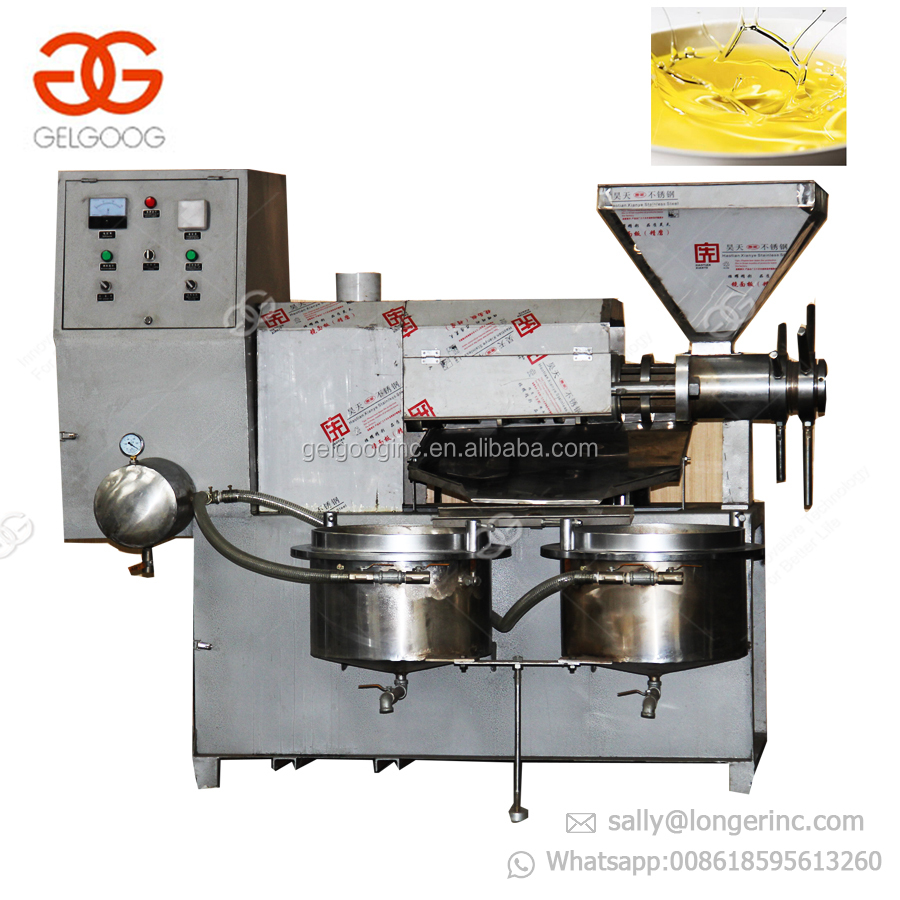 Small Palm Oil Refinery Machine Pressing Palm Coconut Oil Press Machine