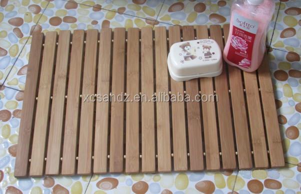 Hot koop populaire bamboe vloer badkamer antislip mat buy hoge