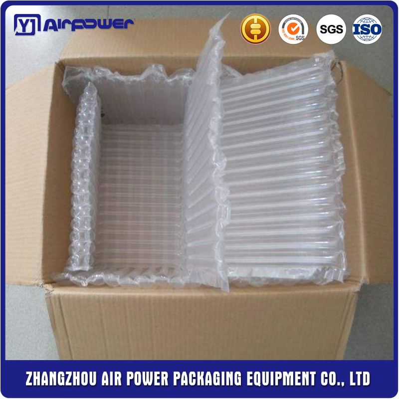 Inflatable glass air cushion bag filling packaging materials