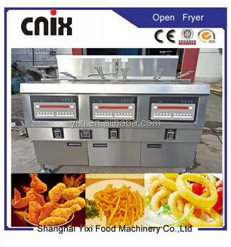 Fast Food Restaurant Kitchen Equipment electric deep fryer/fast food restaurant equipment - buy fast food