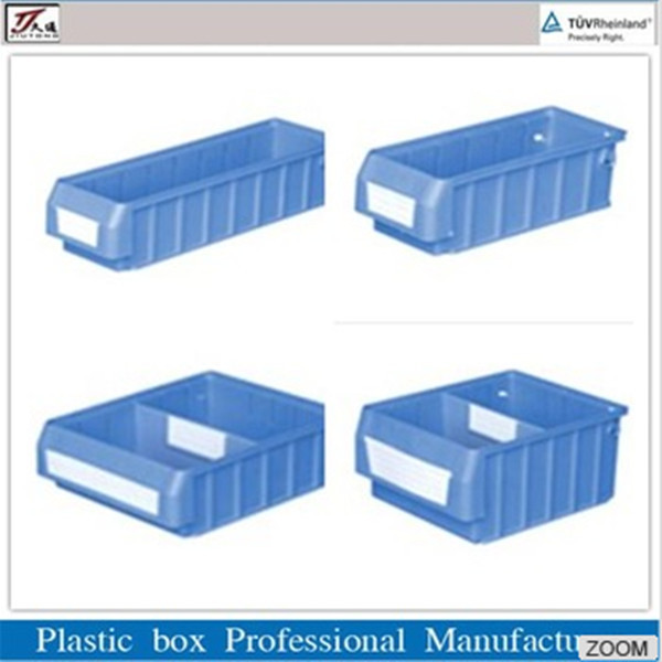 Warehouse Plastic Component Box with Dividers
