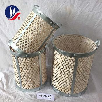 Zinc Borde Decorativo Hecho A Mano Barato Bambú Cesta De Mimbre De Lavandería Buy Cesta De La Ropa De Bambúcesta De Bambú Pequeñacesta De Mimbre