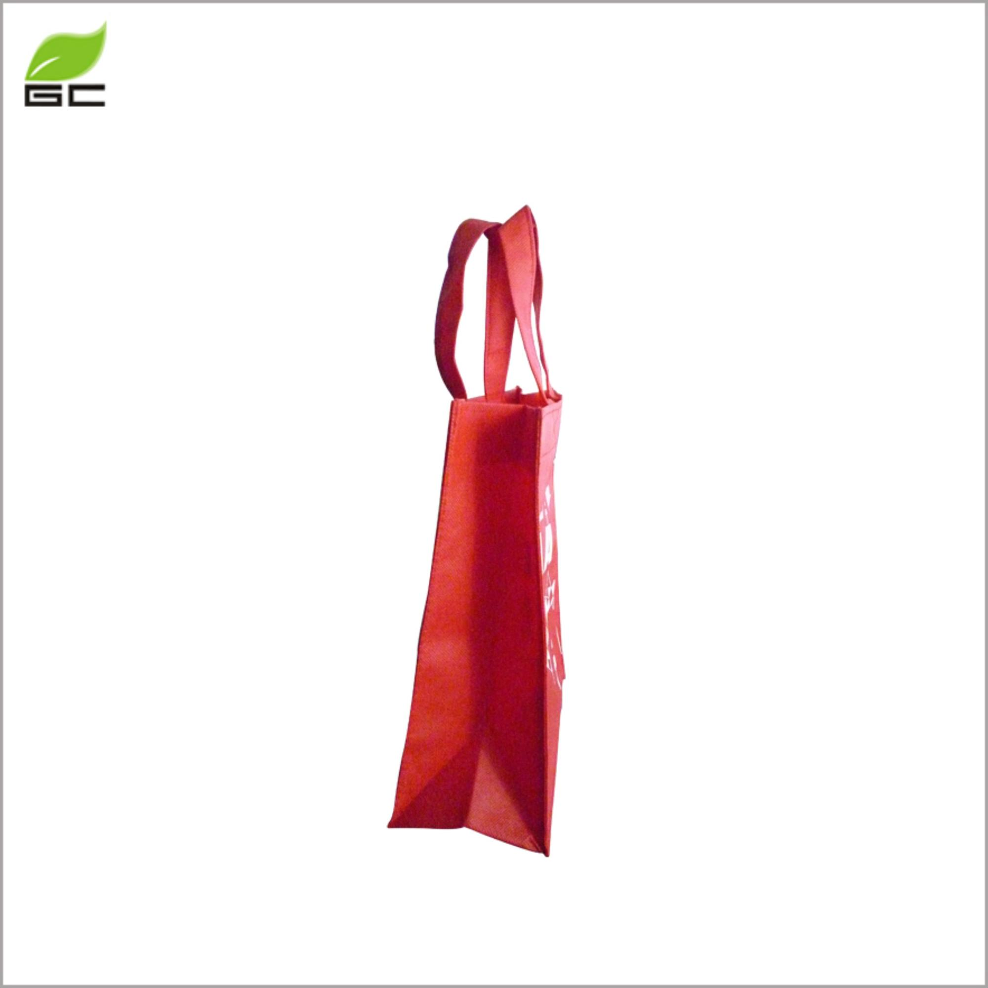 Wholesale Cheap Plain Promotional Tote Non Woven Bag With Logo Printing For Shopping