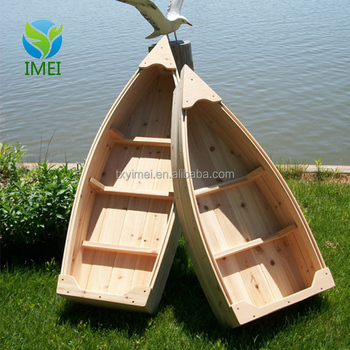 Attractive antique boat shape supermarket handmade stall wooden display