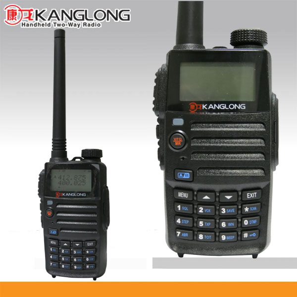 Radio frequency with FM radio auto search, group call remote dizzy stun PTTID, 128ch dual band ham radio