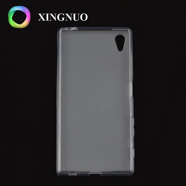 New Products Premium Soft Skin Flexible Bumper Transparent TPU Rubber Handy Cover Phone Case For Sony Xperia XA Ultra