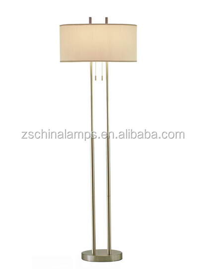 2017 Electroplate Hotel Floor Lamp With Linen Shade Good For Inn ...