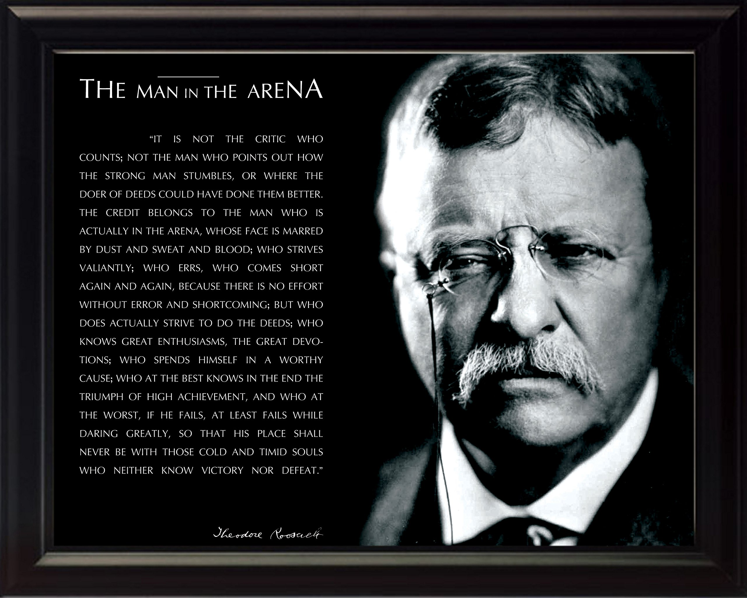 Buy Wesellphotos Theodore Teddy Roosevelt The Man In The Arena