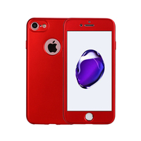 2017 New Style 360 Degree Full Body Cover Protective Hybrid Soft TPU Case For iPhone 7