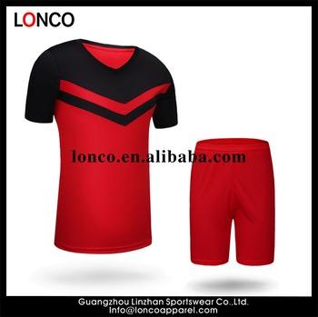 df06ec265 2017 football jersey custom design cheap soccer uniform set team from China
