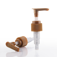 Plastic soap lotion pump with 24mm 410 ribbed closure