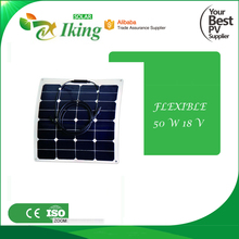 50W 18V Flexible Solar Panel With Factory Price
