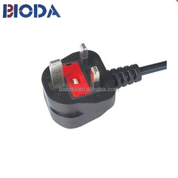 wholesale high quality extension cord for UK British cable