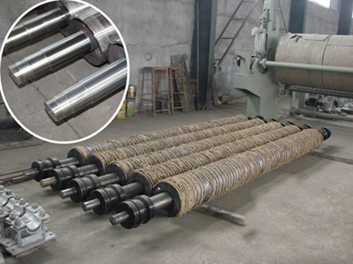 A4 Writing Paper Machine Mill Machinery pressure roll