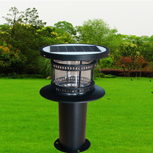 Modern Decorative Stainless Steel Outdoor Garden Led Lamp Solar Lawn Light
